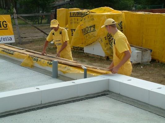 Gradnja kuće prizemnice od samog temelja